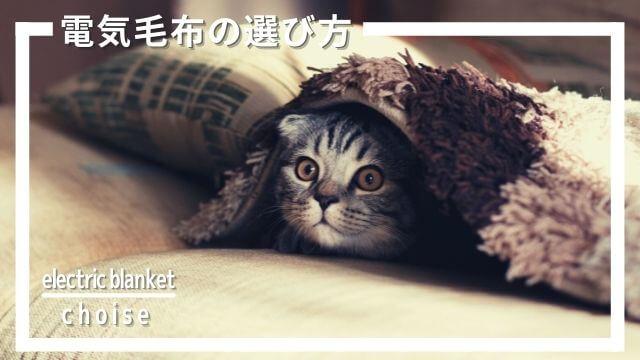 電気毛布の選び方とおすすめ製品