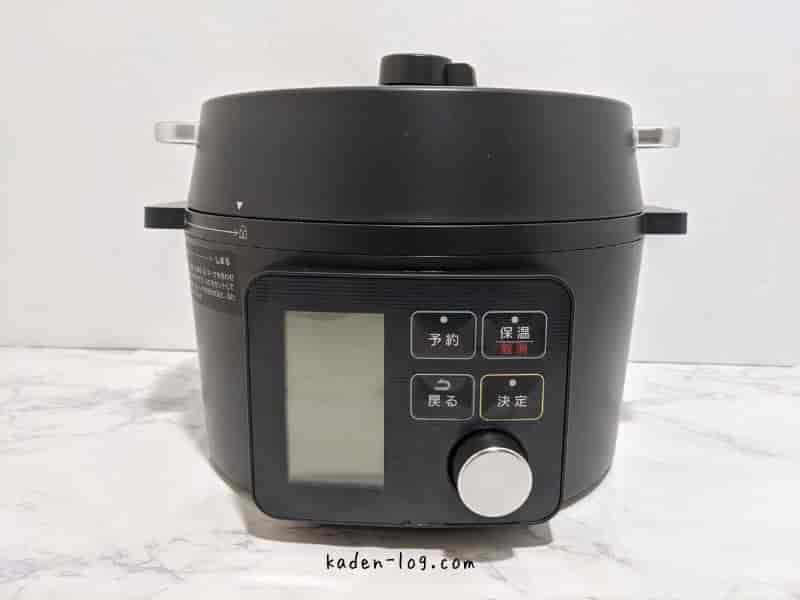 DMM.comいろいろレンタルでレンタルしたアイリスオーヤマ電気圧力鍋