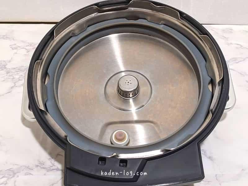 アイリスオーヤマの電気圧力鍋はパッキンの付け忘れに注意しないと故障の原因になる