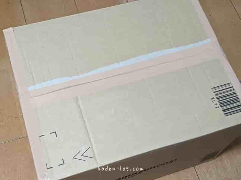 リネットジャパンで回収したいパソコンや小型家電を詰めた段ボール
