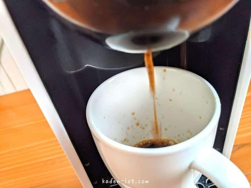 UCCのコーヒーメーカーDRIP POD(ドリップポッド)は抽出が短時間で早い