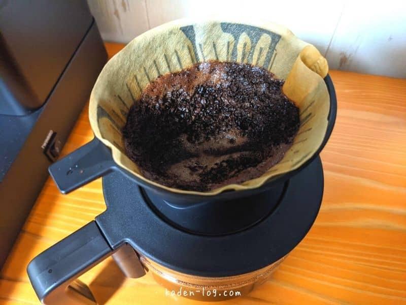 ツインバード コーヒーメーカーはペーパーフィルター対応で掃除が簡単
